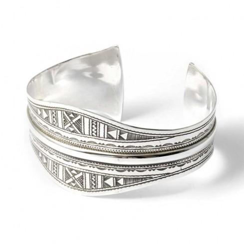 Bracelet argent ethnique touareg