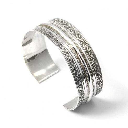 Bracelet en argent touareg