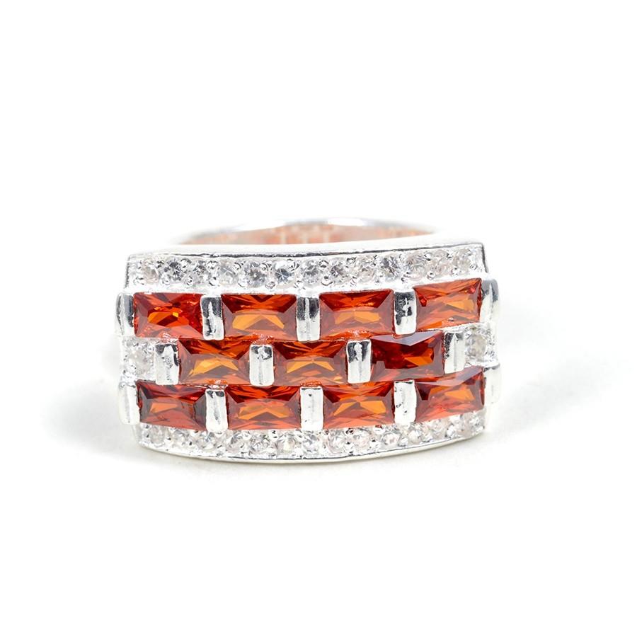 Bague argent Zimbabwe -  Zirconium - Boutique Nirvana