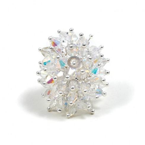Bague argent Bora Bora -  Zirconium - Boutique Nirvana