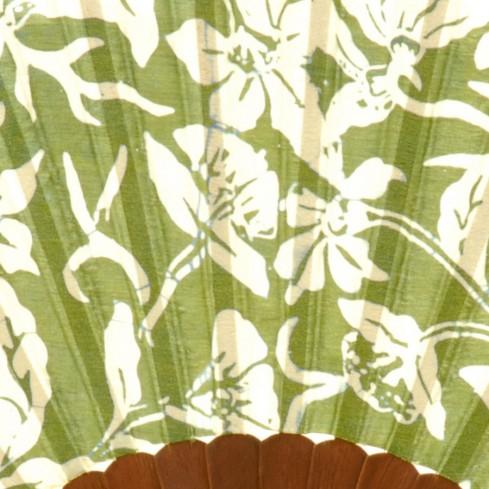 Eventail en soie tropic - PROMOS - Boutique Nirvana