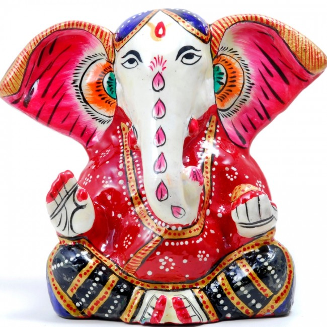 Statue émaillée Ganesh - STATUES - Boutique Nirvana