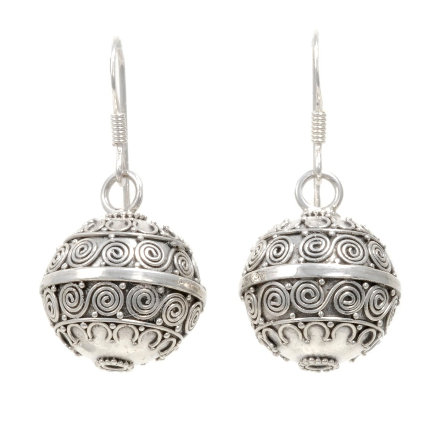 Boucles boules argent Oliana - SILVER EARRINGS - Boutique Nirvana