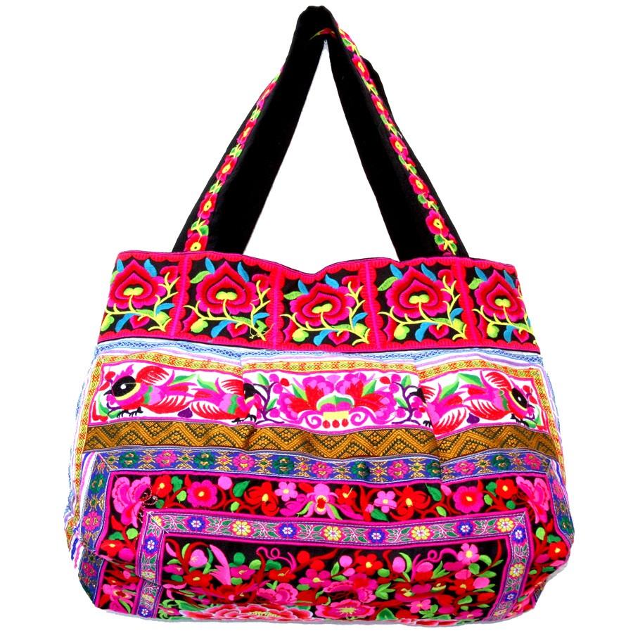 Sac brodé ethnique Hmong - BAGS - Boutique Nirvana