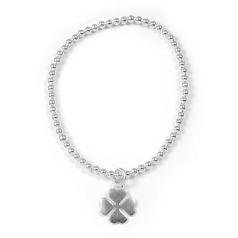 Bracelet argent lucky - ARGENT+ - Boutique Nirvana