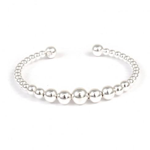 Bracelet perles d'argent pour bébés - BIJOUX ENFANTS & ADOS - Boutique Nirvana