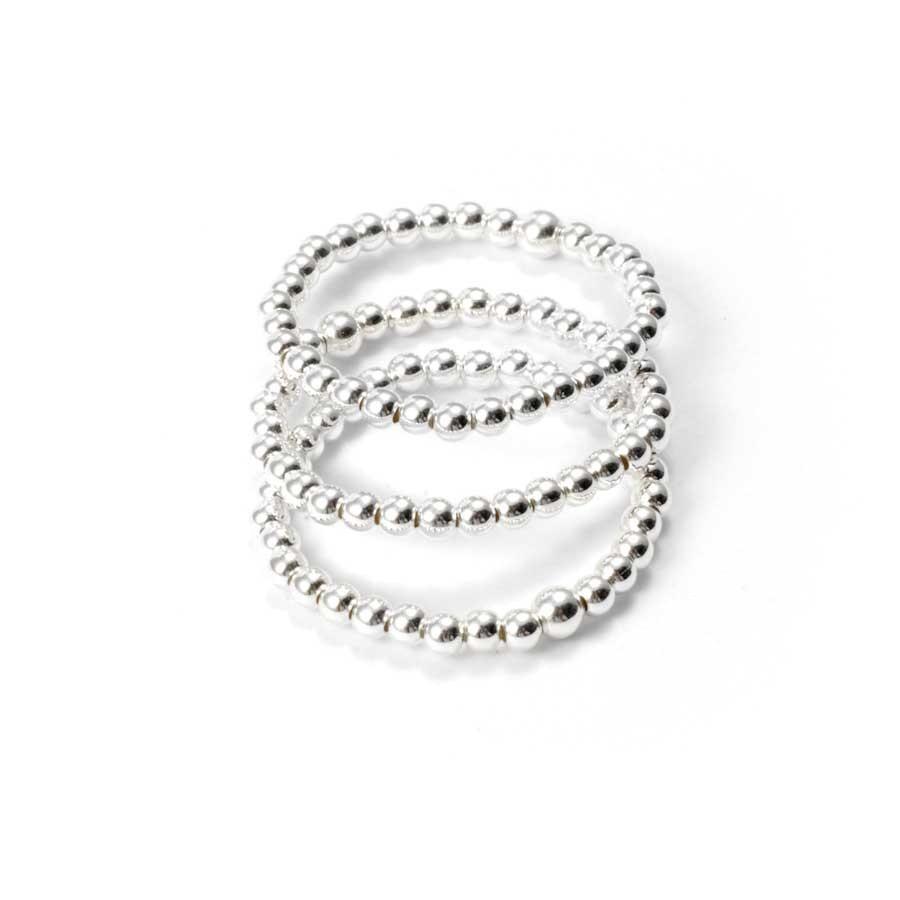 Bague argent très fine ajustable - Silver Rings - Boutique Nirvana