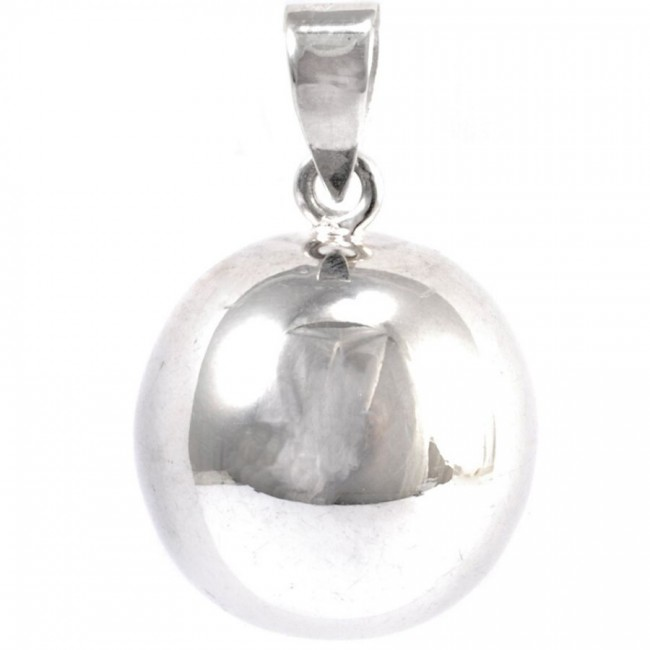 Large Smooth Silver Bola