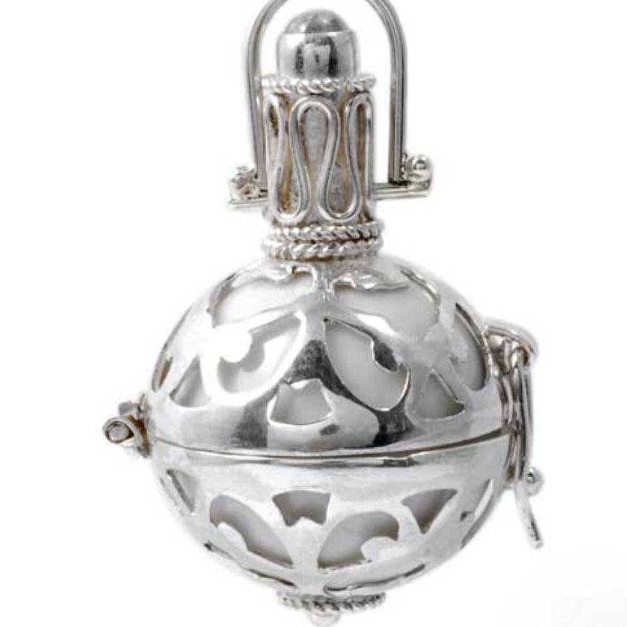Bola de grossesse en argent Bali - BOLAS DE GROSSESSE & CLOCHETTES DES ANGES - Boutique Nirvana