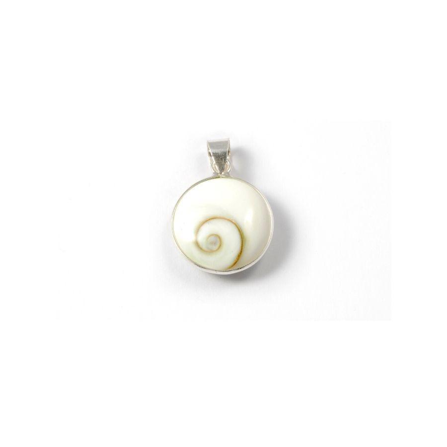 Petit pendentif oeil de Shiva argent - SILVER PENDANT - Boutique Nirvana