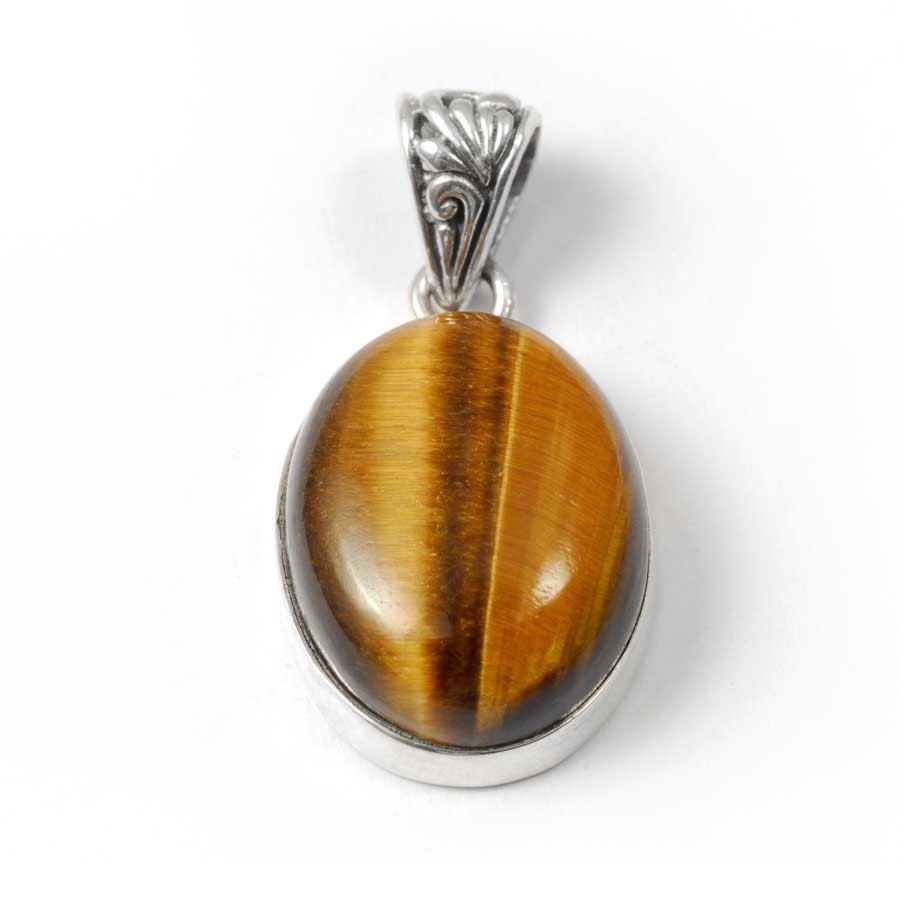 Unique Gemstone Pendant - Silver Jewellery  - Boutique Nirvana