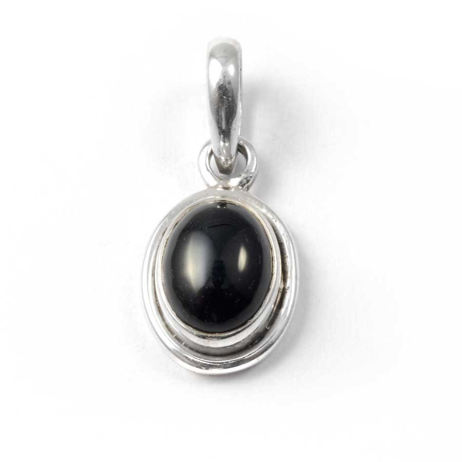 Elegant Oval Pendant - Silver Jewellery  - Boutique Nirvana