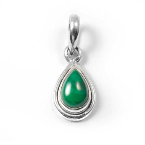 Teardrop Gemstone Pendant - Mineral Gemstones - Boutique Nirvana