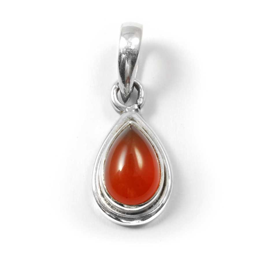 Teardrop Gemstone Pendant - Mineral Gemstones - Boutique Nirvana