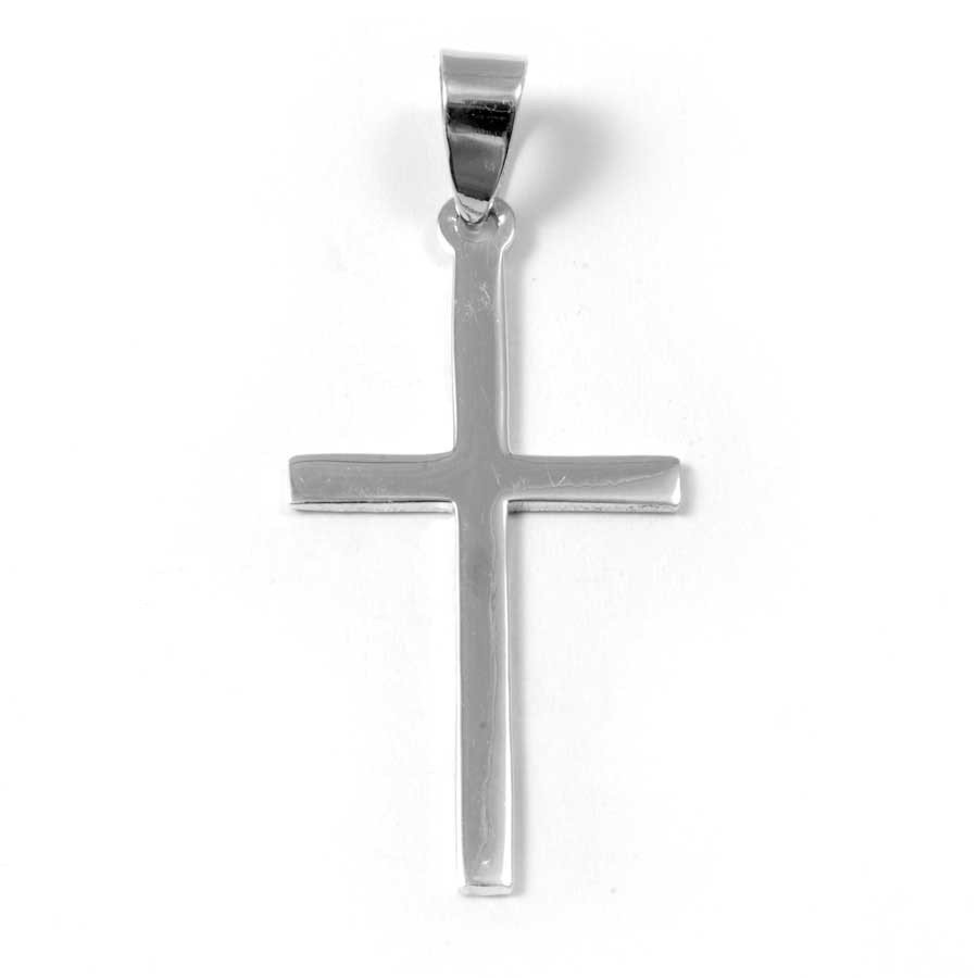 Classic Silver Cross Pendant - Silver Jewellery  - Boutique Nirvana