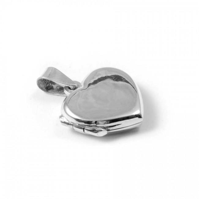 Pendentif boîte coeur en Argent - BIJOUX ARGENT - Boutique Nirvana