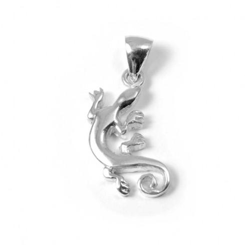 Pendentif salamandre en Argent - Argent - Boutique Nirvana