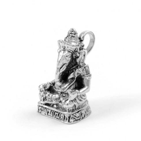 Pendentif Ganesh en Argent - Silver Jewellery  - Boutique Nirvana