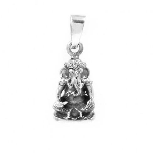 Pendentif Ganesh en Argent (2) - Silver Jewellery  - Boutique Nirvana