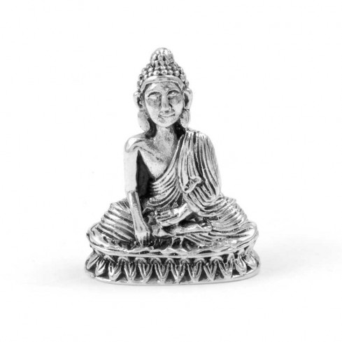 Pendentif Bouddha en Argent - BIJOUX ARGENT - Boutique Nirvana