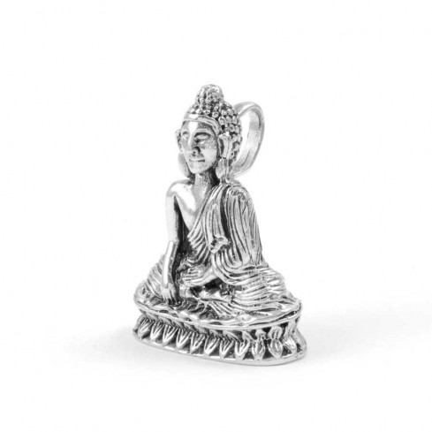Pendentif Bouddha en Argent - Silver Jewellery  - Boutique Nirvana