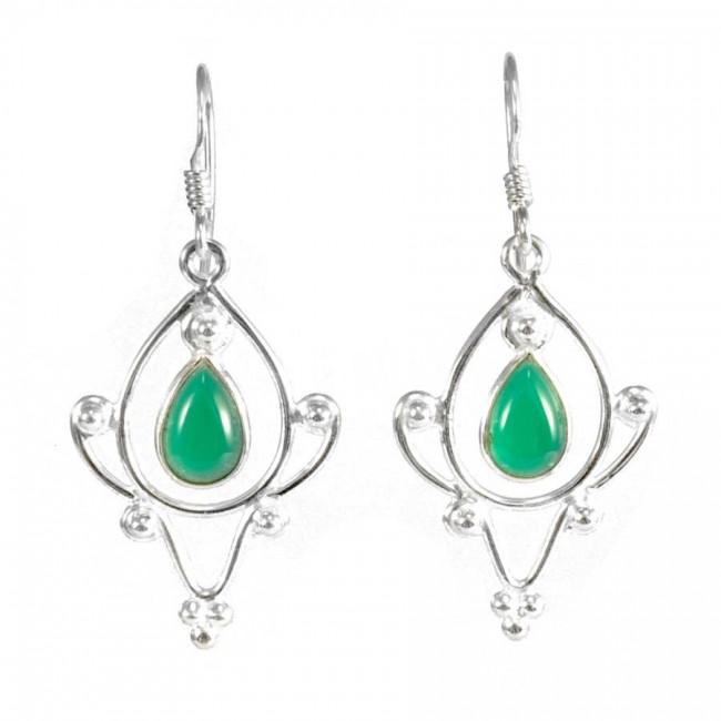 Boucles d'oreilles Taj Mahal - BOUCLES ARGENT - Boutique Nirvana
