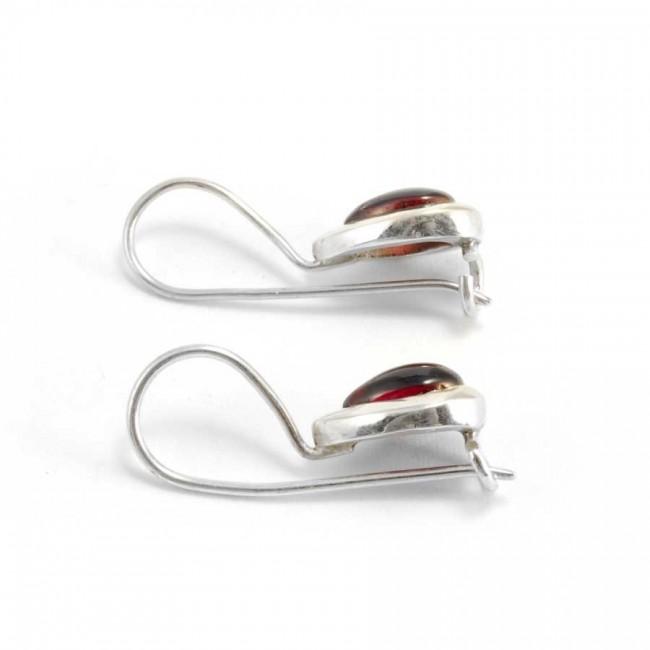 Boucles d'oreilles dormeuse en argent gouttes - BOUCLES ARGENT - Boutique Nirvana