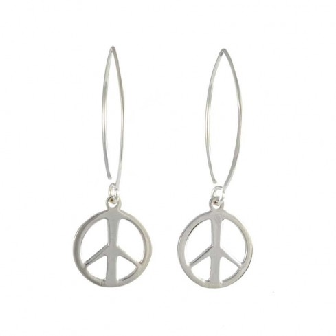 Silver Symbol Earring Range - SILVER EARRINGS - Boutique Nirvana