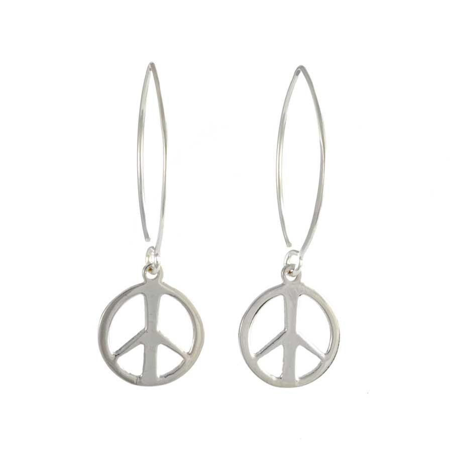Silver Symbol Earring Range - SILVER EARRINGS - Boutique Nirvana