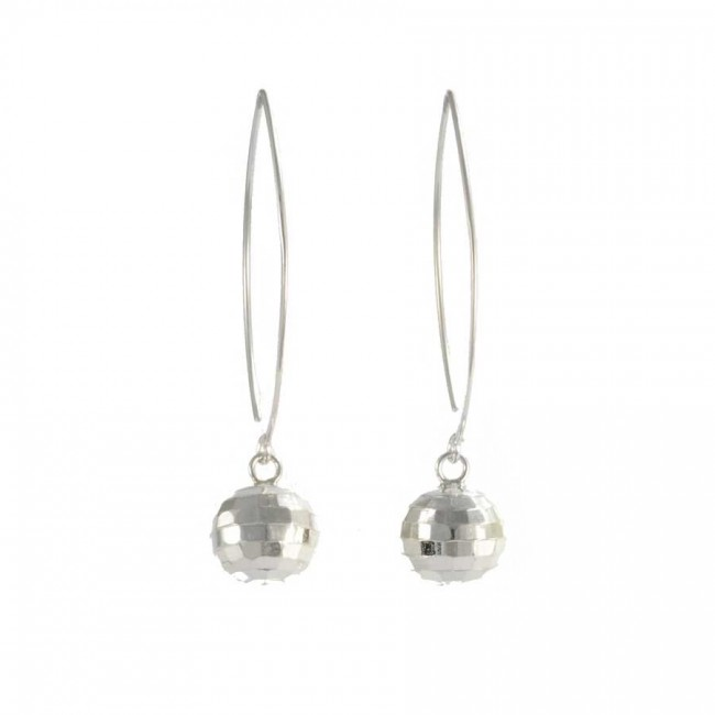 Sterling Silver Ball Earring Range - SILVER EARRINGS - Boutique Nirvana