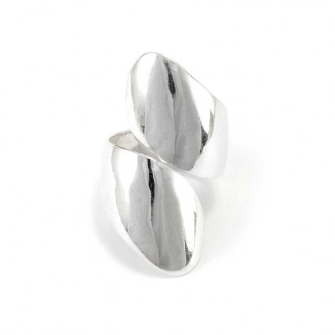 Balinese Adjustable Silver Wrap Ring - Silver Rings - Boutique Nirvana