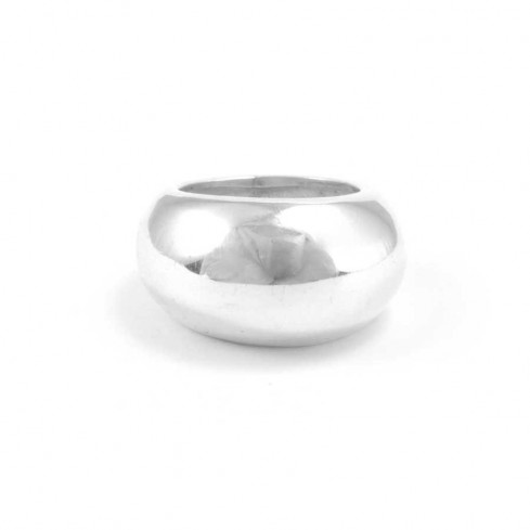 Smooth Silver Balinese Ring - Silver Rings - Boutique Nirvana