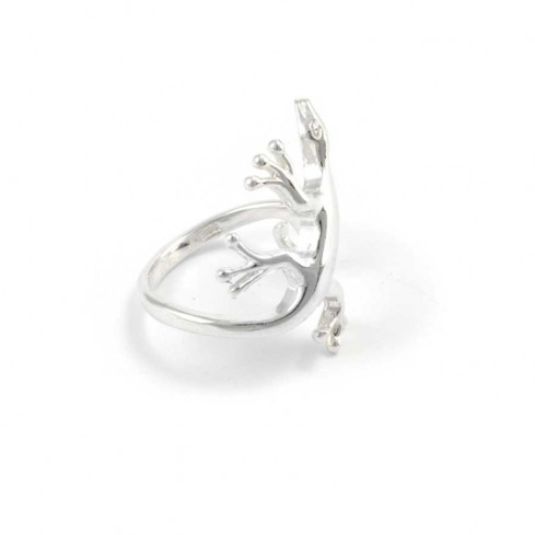 Unique Silver Lizard Ring - Silver Rings - Boutique Nirvana