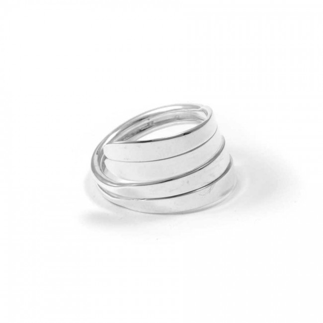 Thai Adjustable Silver Wrap Ring - Silver Rings - Boutique Nirvana