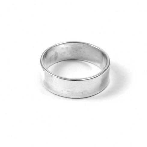 Bague argent anneau lisse - BAGUES ARGENT - Boutique Nirvana