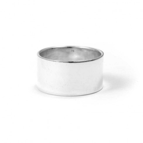 Classic Men's Sterling Silver Ring - Silver Rings - Boutique Nirvana