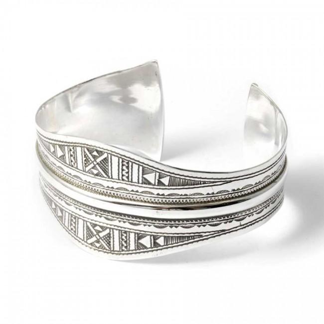 Bracelet argent ethnique touareg - BRACELETS ARGENT - Boutique Nirvana