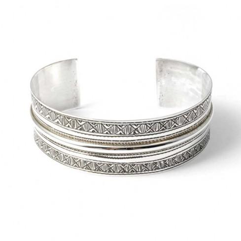 Bracelet en argent touareg - BRACELETS ARGENT - Boutique Nirvana