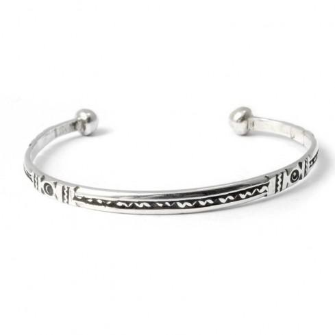 Bracelet argent touareg - BRACELETS ARGENT - Boutique Nirvana