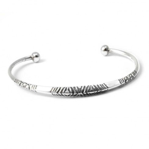Bracelet argent touareg - TOUAREG - Boutique Nirvana