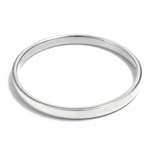 Bracelet argent jonc large - BRACELETS ARGENT - Boutique Nirvana