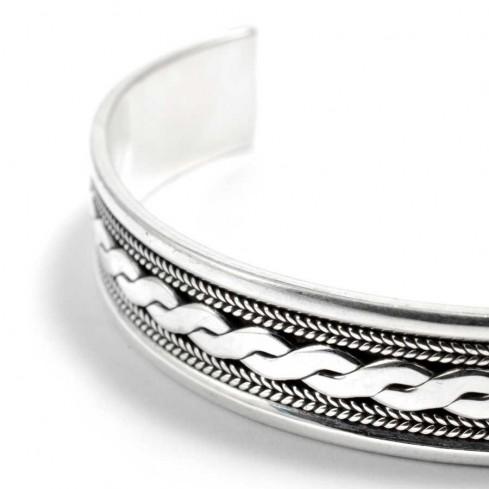 Bracelet pour homme en argent - BRACELETS ARGENT - Boutique Nirvana