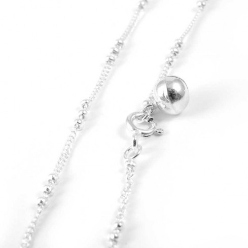 Fine Ethnic Silver Anklet - Silver Ankle Chain - Boutique Nirvana