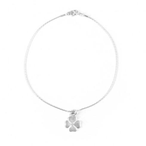 Bracelet cheville argent et symboles - CHAINES CHEVILLES ARGENT - Boutique Nirvana