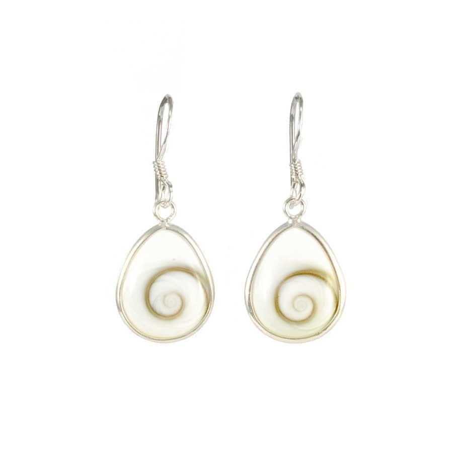 Eye of St Lucia Teardrop Dangle Earrings - SAINTE LUCIE - Boutique Nirvana