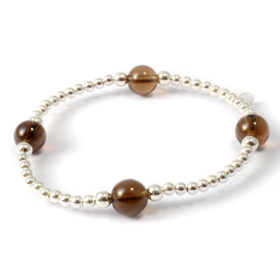Bracelets chakras perles d'argent et pierres naturelles - Pierres naturelles - Boutique Nirvana