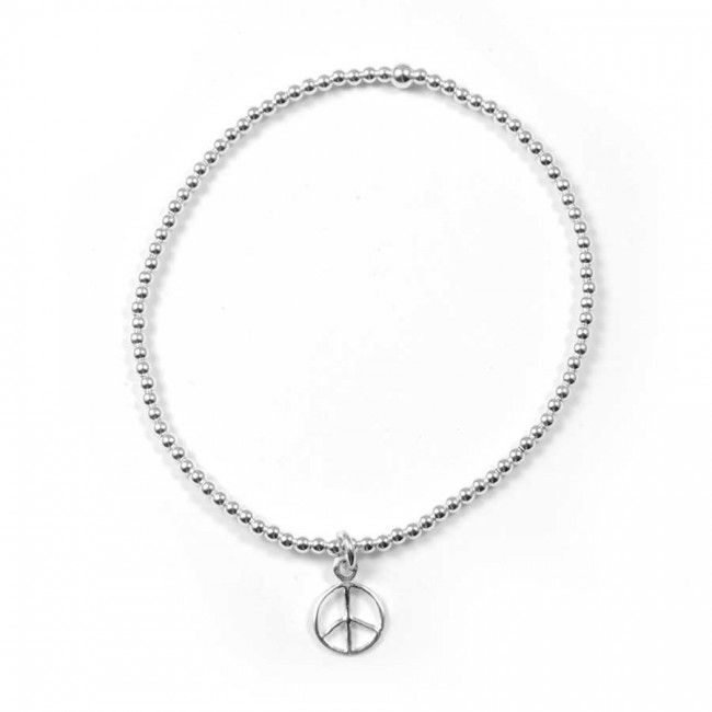 Beaded Silver Bracelet Range with Various Charms - Home - Boutique Nirvana