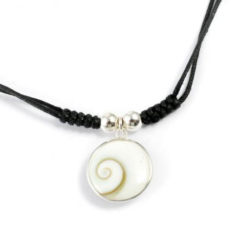 Collier argent pendentif Ste Lucie - COLLIERS ARGENT - Boutique Nirvana