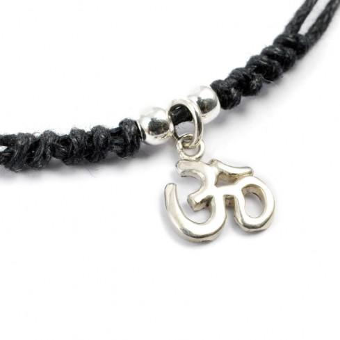 Collier pendentif argent cordon noir - BIJOUX ARGENT - Boutique Nirvana