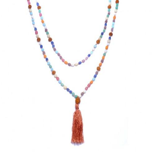 Colliers malas rudraksha et perles - MALAS - Boutique Nirvana